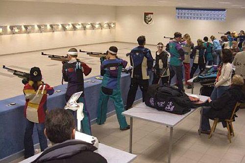 Luftgewehrturnier in unserer Schießhalle